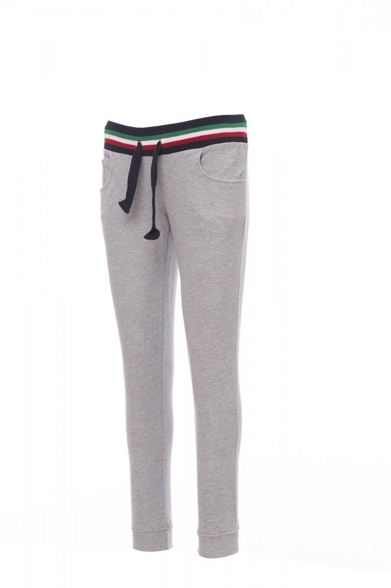 FREEDOM+LADY | PANTALONI IN FELPA SPORTIVO FRENCH TERRY 280 gr CON POLIESTERE